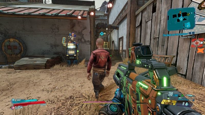 borderlands 3 - the quick and the quickerer mission