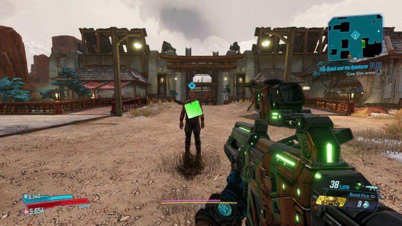 borderlands 3 - the quick and the quickerer tips