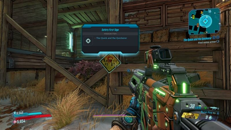 borderlands 3 - the quick and the quickerer wiki