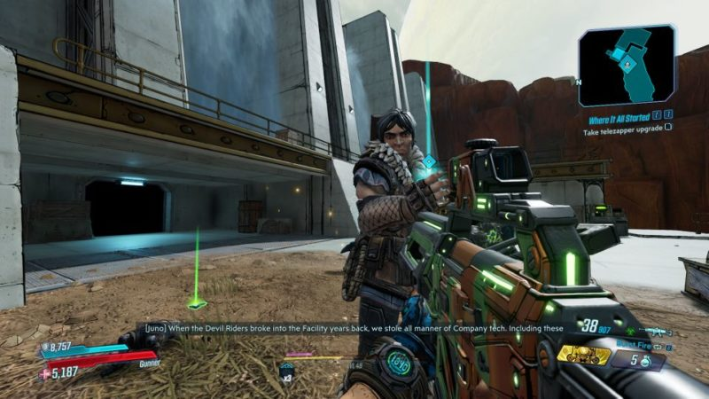 borderlands 3 - where it all started mission