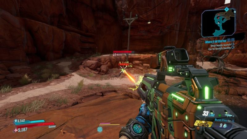 borderlands 3 - where it all started tips