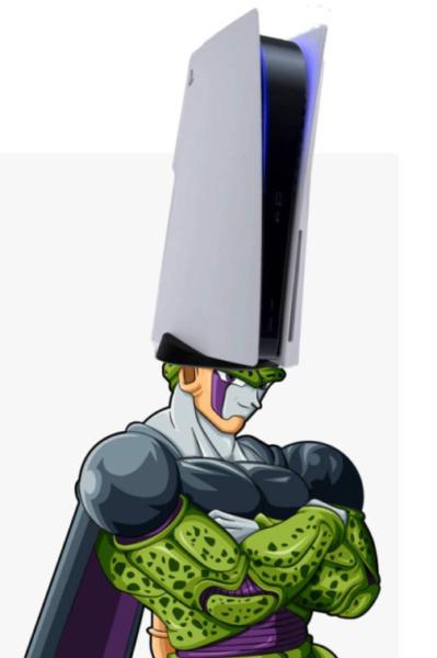 cell ps5 meme