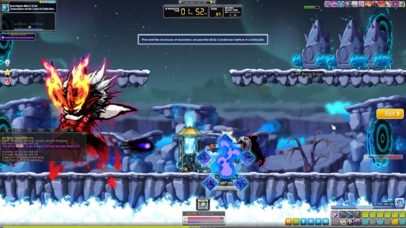how to clear erda daily - maplestory
