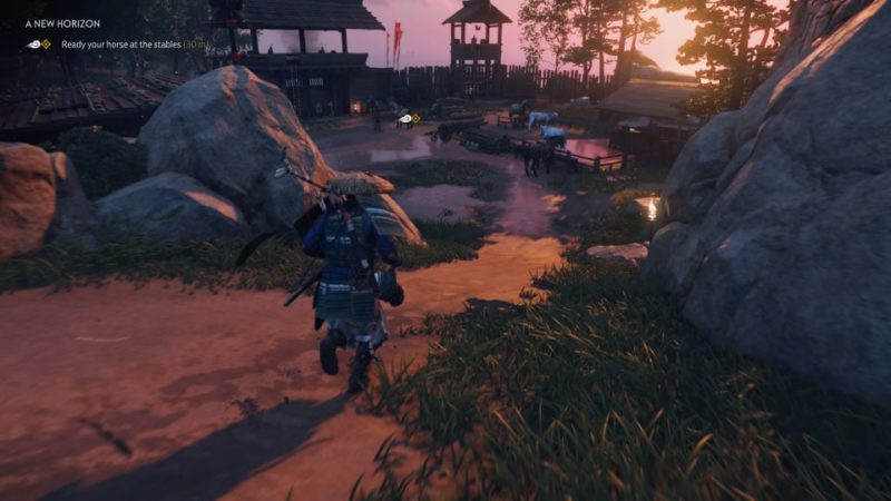 ghost of tsushima - a new horizon quest guide