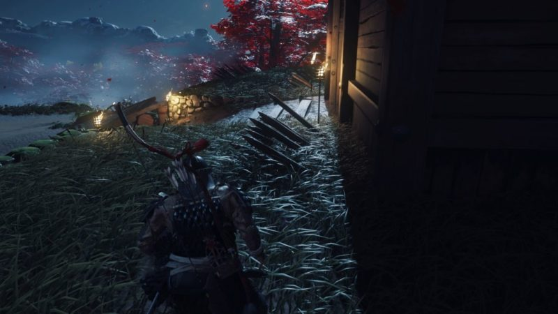 ghost of tsushima - a reckoning in blood mission