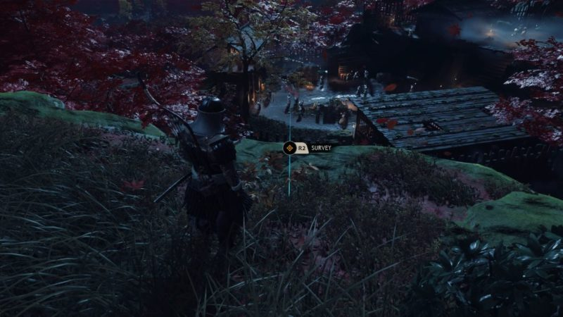 ghost of tsushima - a reckoning in blood quest guide