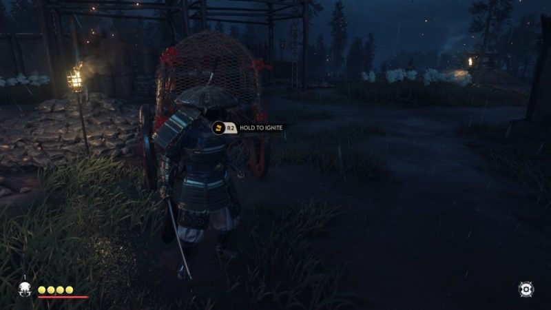 ghost of tsushima - burn down logging base tips and guide