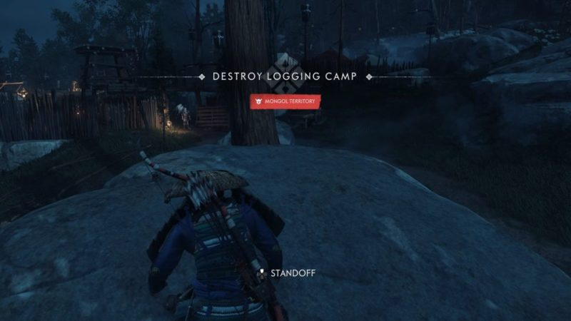 ghost of tsushima - destroy the logging camp guide