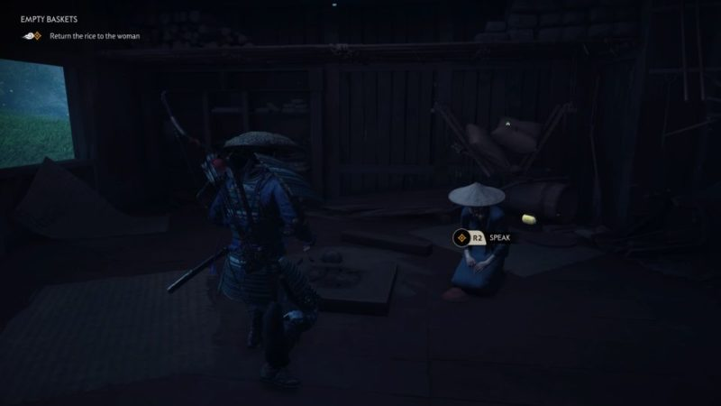 ghost of tsushima - empty baskets wiki