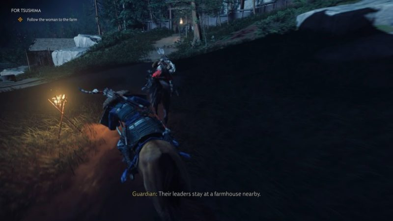 ghost of tsushima - for tsushima quest