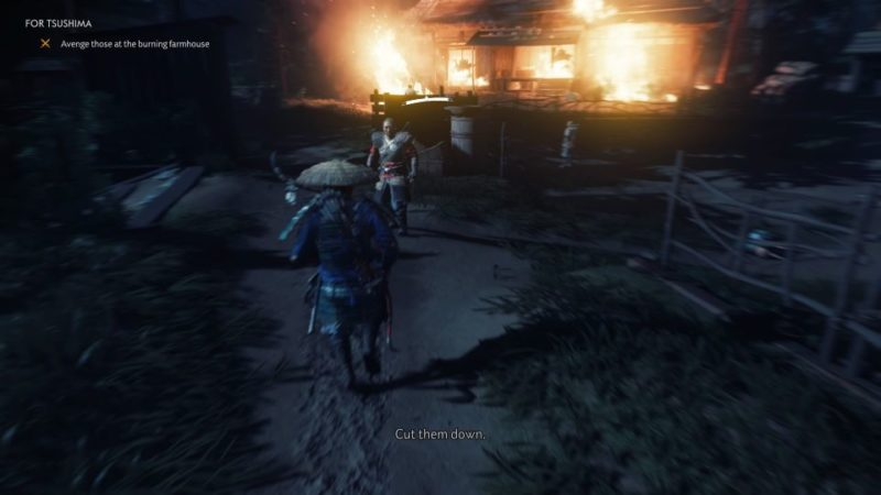 ghost of tsushima - for tsushima quest guide