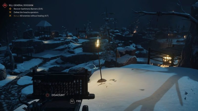 ghost of tsushima - kill general dogshin walkthrough
