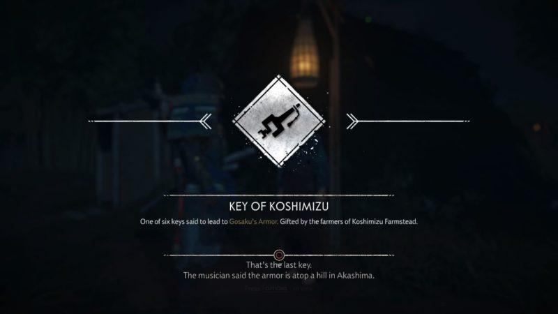 ghost of tsushima - koshimizu farmstead tips