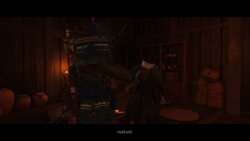 ghost of tsushima - liberate aoi village quest