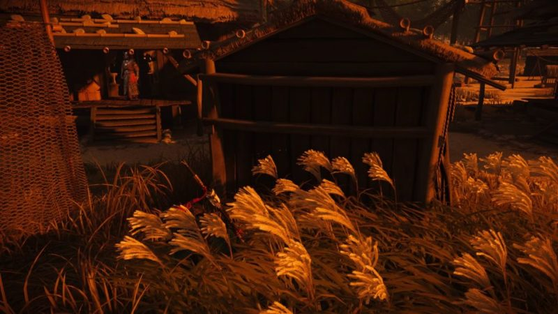 ghost of tsushima - ohama fishing village guide