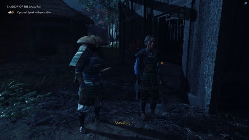 ghost of tsushima - shadow of the samurai quest