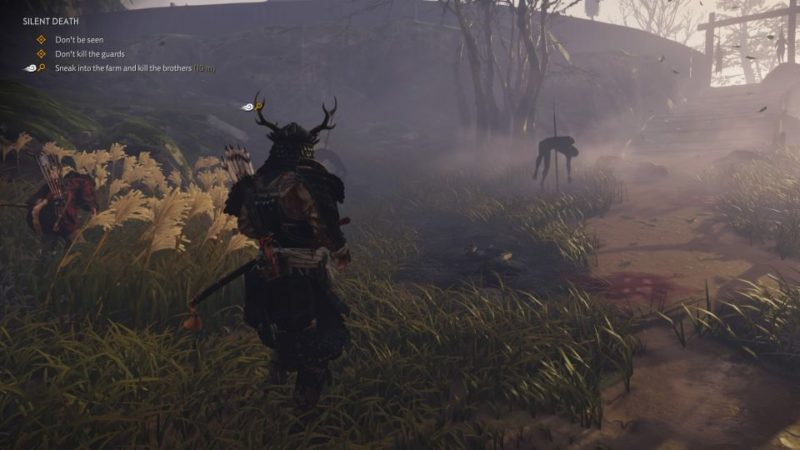 ghost of tsushima - silent death quest guide