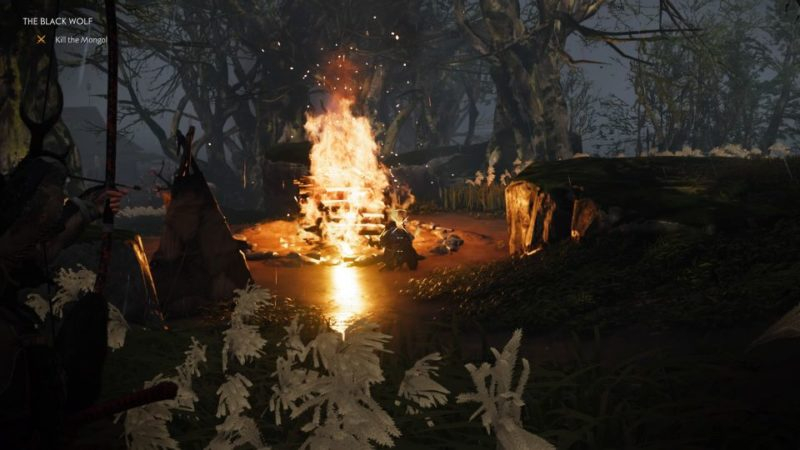 ghost of tsushima - the black wolf quest guide