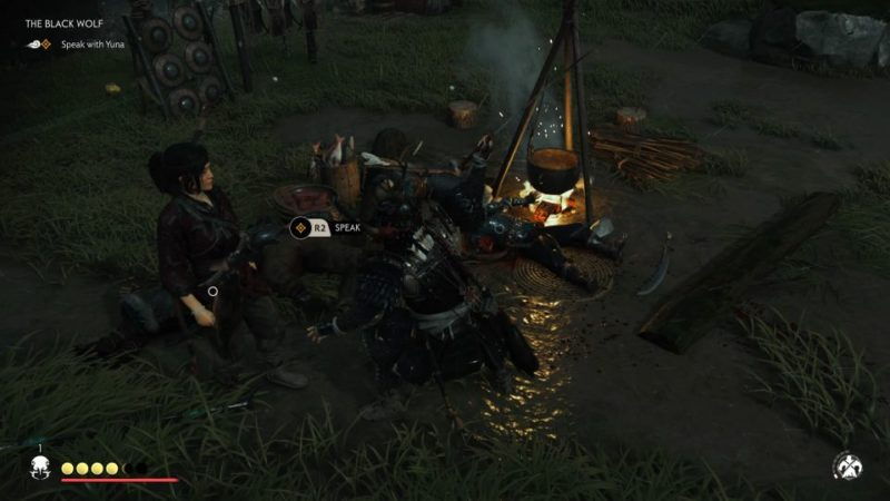 ghost of tsushima - the black wolf tips