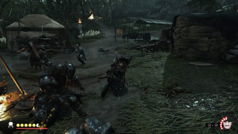 ghost of tsushima - the black wolf wiki