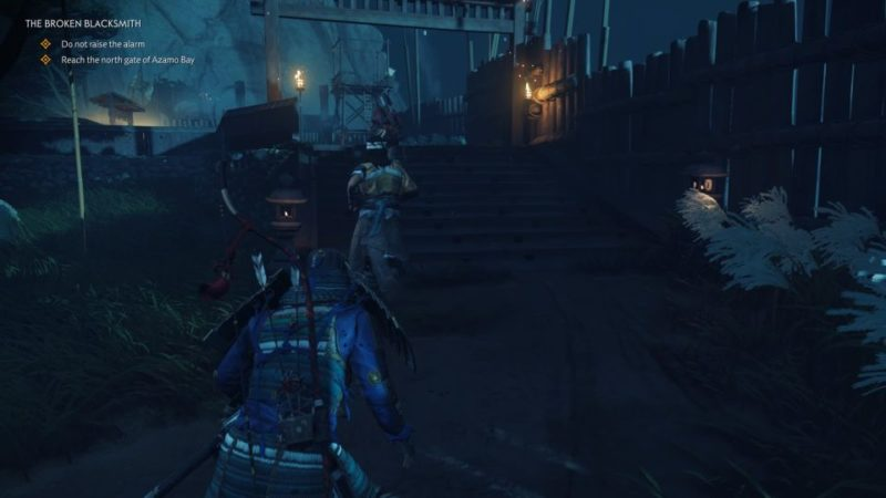 ghost of tsushima - the broken blacksmith tips