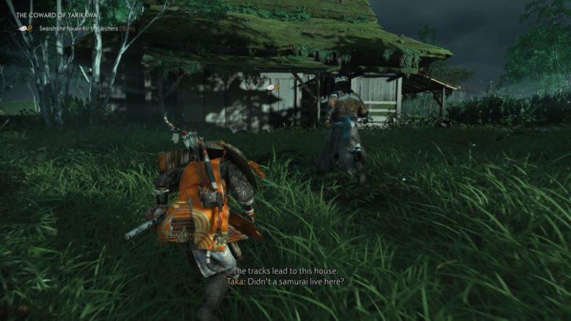 ghost of tsushima - the coward of yarikawa walkthrough