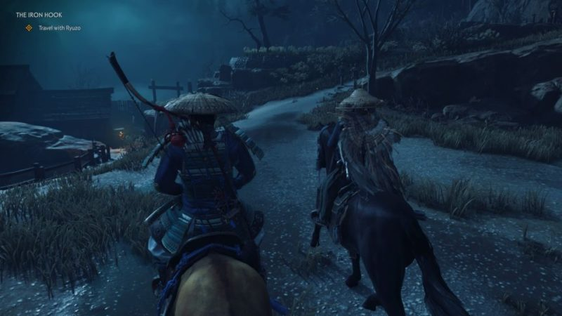 ghost of tsushima - the iron hook mission