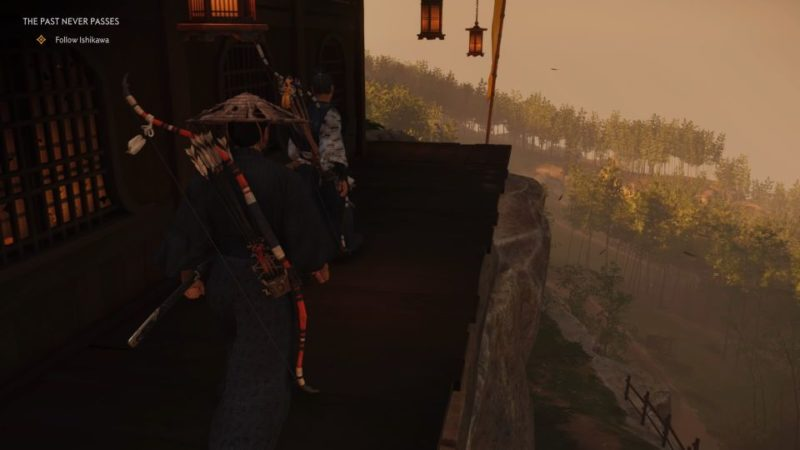 ghost of tsushima - the past never passes quest