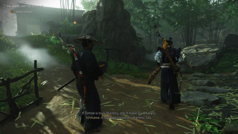 ghost of tsushima - the sensei and the student guide tips