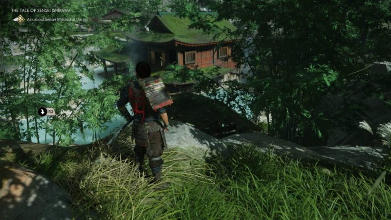 ghost of tsushima - the tale of sensei ishikawa quest
