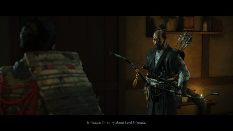 ghost of tsushima - the tale of sensei ishikawa wiki