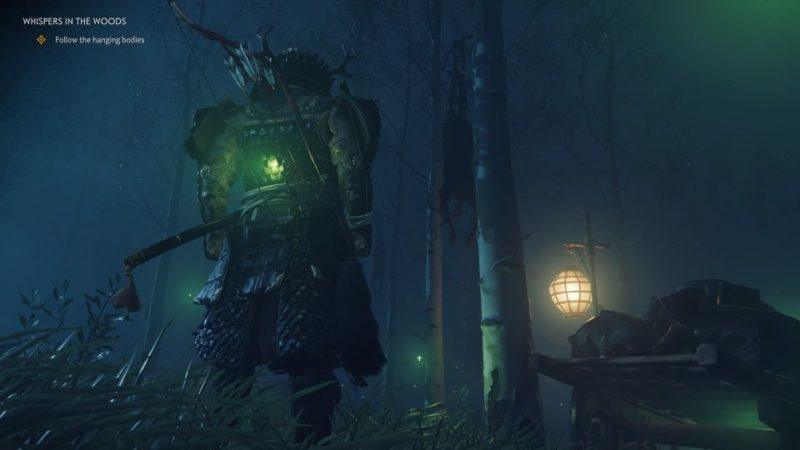 ghost of tsushima - whispers in the woods tips