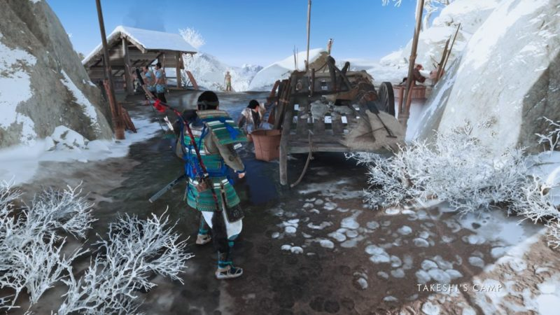 ghost of tsushima - wolves at the gates quest guide