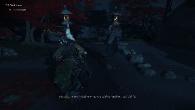 ghost of tsushima - the family man quest guide