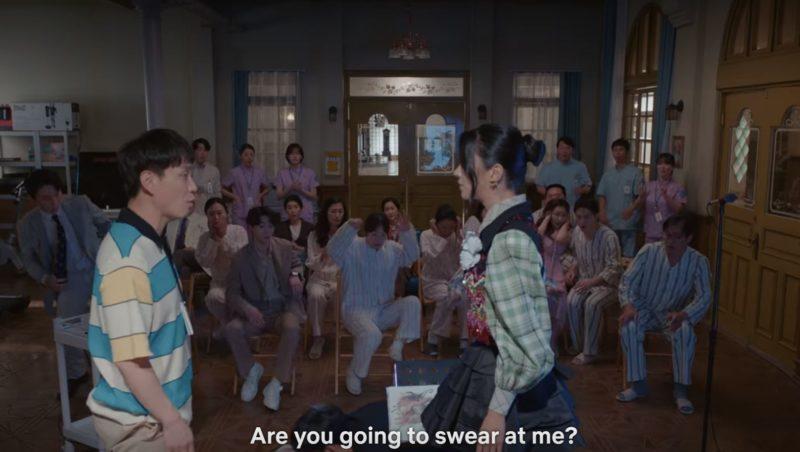 sang tae fight swith mun yeong