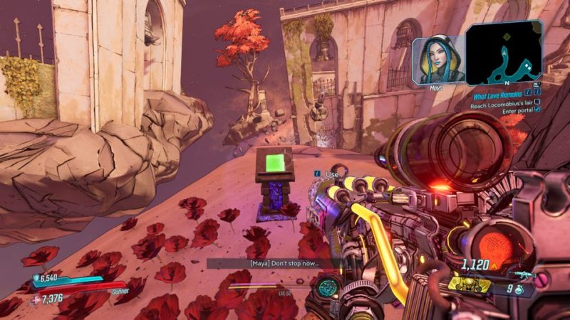 borderlands 3- signal to noise sapphire's run all 3 locations