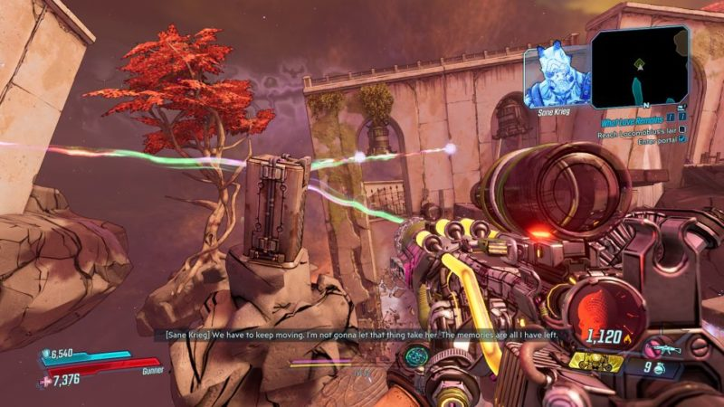 borderlands 3- signal to noise sapphire's run how to do