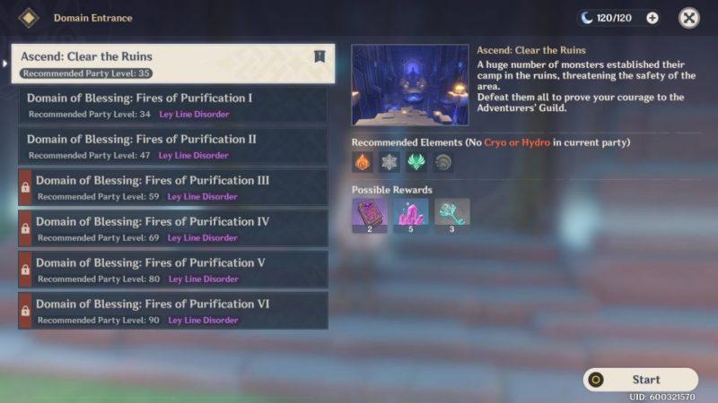 genshin impact- adventure rank ascension 1 quest