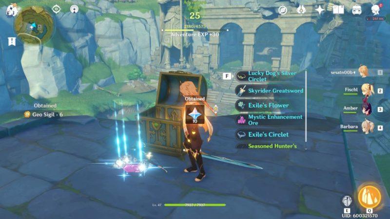 genshin impact - dunyu ruins guide
