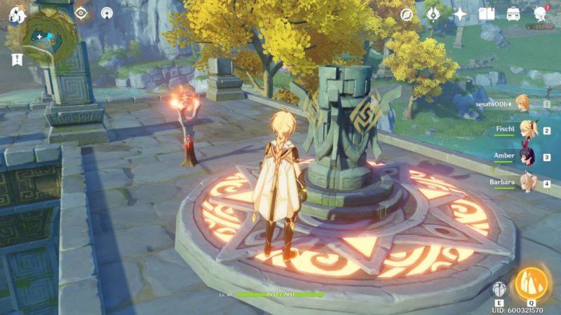 genshin impact - dunyu ruins puzzle tips